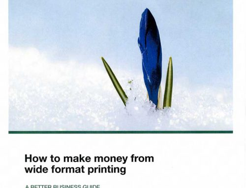 How to Make Money from Wide Format Printing