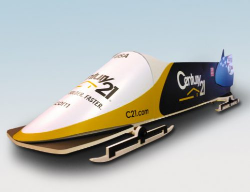 Color Ink coasts with an Inca Onset Q40i digital flatbed printer to create a unique 3D bobsled